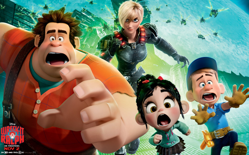 WRECK-IT RALPH (2012) Blu-ray Sweepstakes