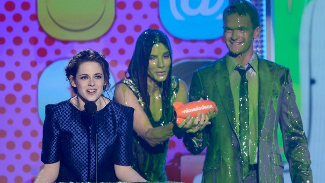 Kristen Stewart Nickelodeon Kids' Choice Awards 2013