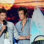 Louis Tomlinson Harry Styles One Direction Teen Choice Awards