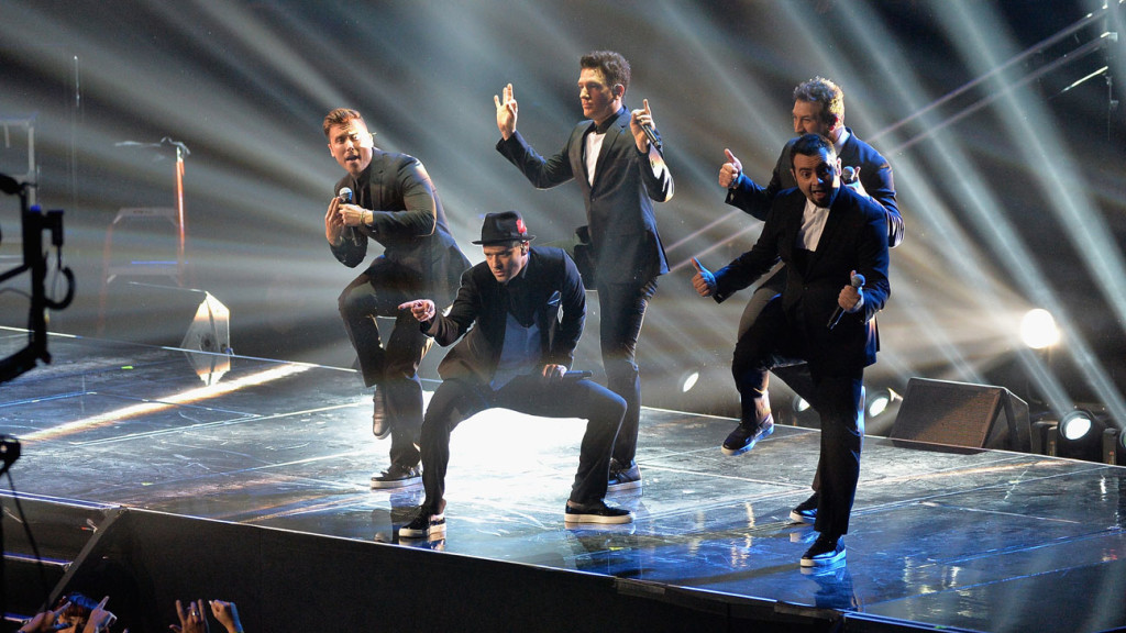 Nsync MTV Video Music Awards 2013