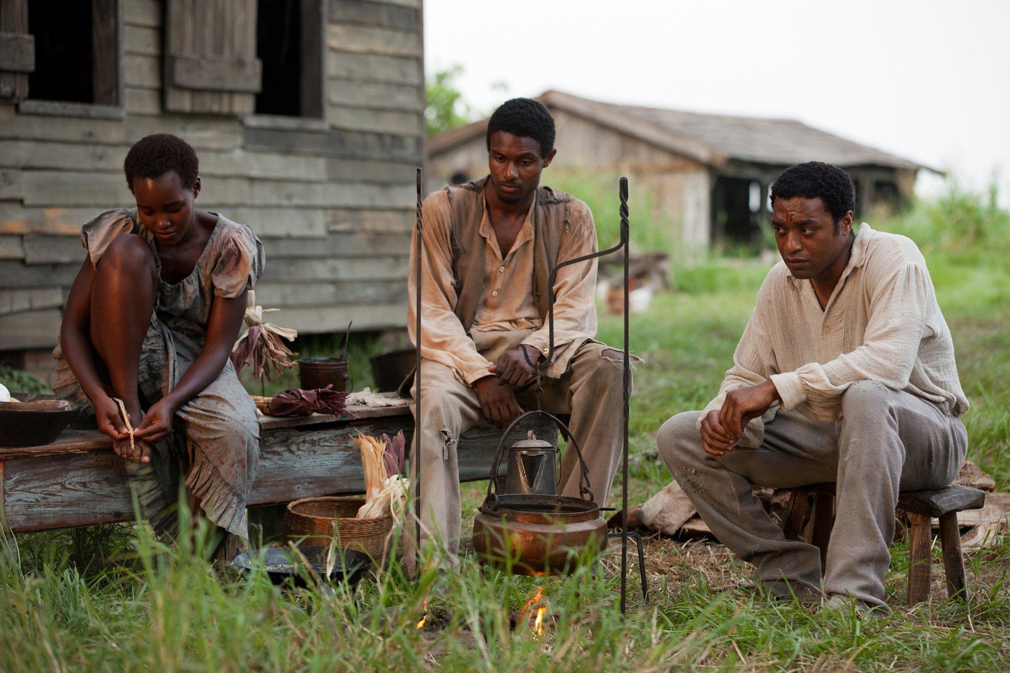 Chiwetel Ejiofor Lupita Nyongo 12 Years a Slave