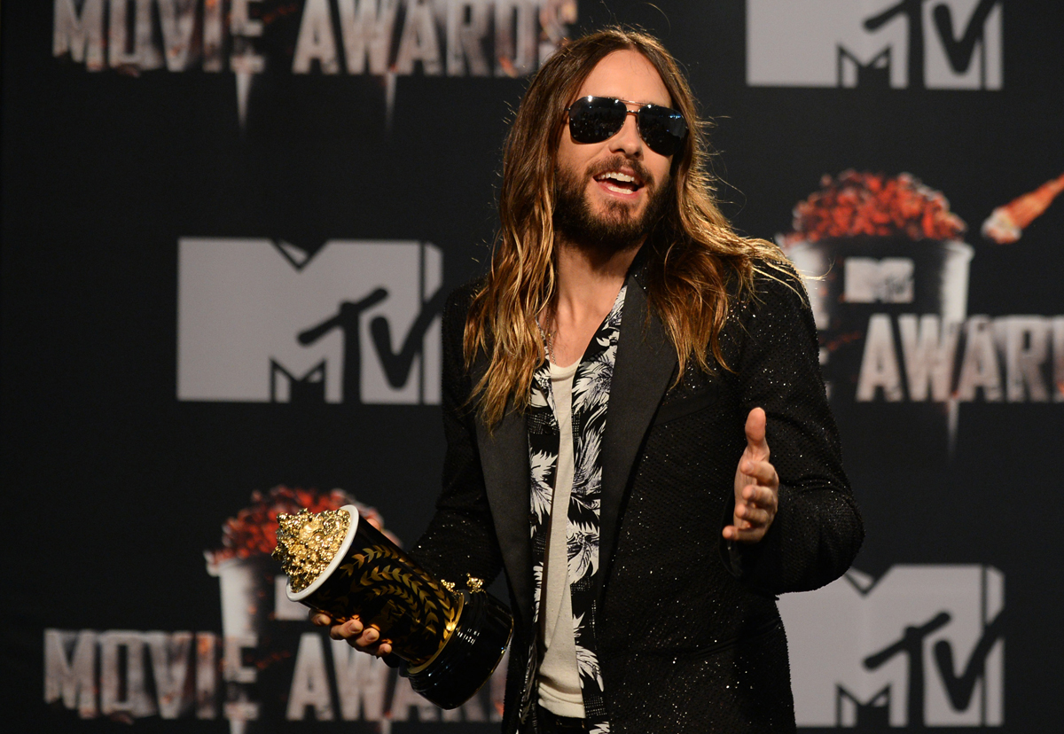 Jared LEto MTV Movie Awards 2014
