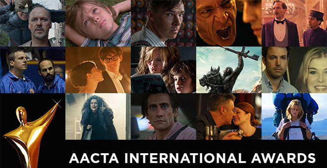 AACTA International Awards 2015 Nominations Logo