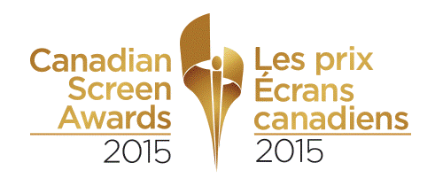 Canadian Screen Awards 2015 Logo