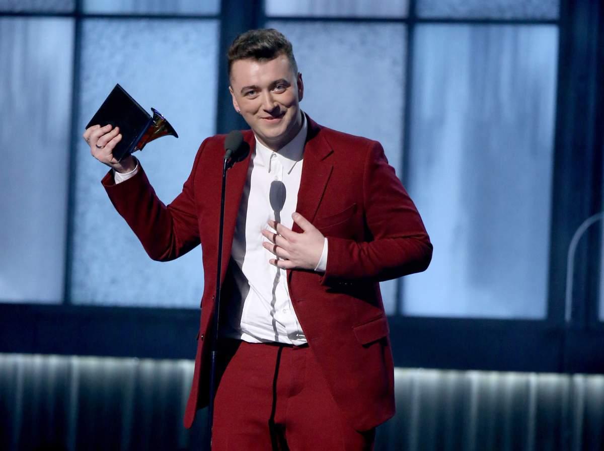 Sam Smith Grammy Awards 2015